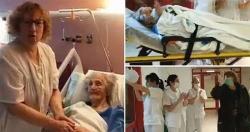 Chiến thắng COVID-19 ở tuổi 101, cụ bà người Tây Ban Nha thành biểu tượng hy vọng