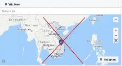 Xoá Trường Sa, Hoàng Sa khỏi bản đồ Việt Nam, Facebook nói gì?