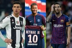"""""""Vua bóng đá"""" Pele xếp Neymar ngang hàng với Messi, Ronaldo"""