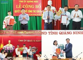 Hà Tĩnh, Quảng Ninh và Quảng Ngãi bổ nhiệm hàng loạt nhân sự mới
