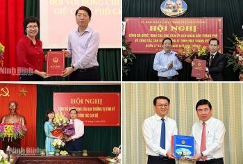 Tin nhân sự, lãnh đạo mới TP.HCM, Hải Phòng, Ninh Bình