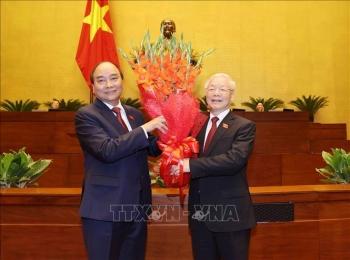 Chủ tịch nước Nguyễn Xuân Phúc: Viết tiếp những kỳ tích tiến lên giàu mạnh, hùng cường của đất nước