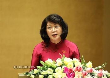 Quốc hội nhất trí miễn nhiệm Phó Chủ tịch nước Đặng Thị Ngọc Thịnh