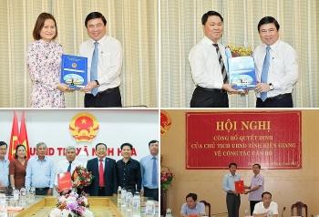 Bổ nhiệm nhân sự, lãnh đạo mới TP.HCM, Kiên Giang, Khánh Hòa