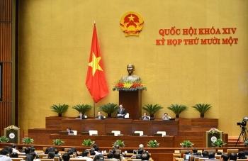Hôm nay Quốc hội họp phiên bế mạc, phê chuẩn bổ nhiệm 14 thành viên Chính phủ