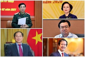 Nhân sự mới bộ, ngành tuần qua: Quốc hội phê chuẩn bổ nhiệm 12 Bộ trưởng