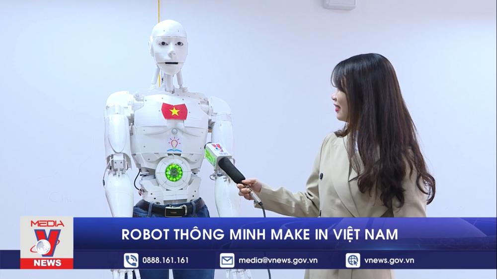 Robot thông minh make in Việt Nam