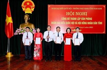 TP.HCM, Nam Định và Thái Nguyên bổ nhiệm nhân sự lãnh đạo mới