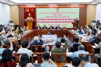 205 người ứng cử đại biểu Quốc hội ở khối Trung ương
