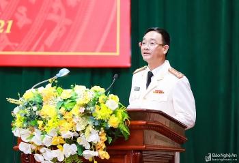 Tân Giám đốc Công an tỉnh Nghệ An là ai?