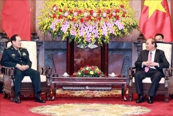 Thúc đẩy quan hệ Đối tác hợp tác chiến lược toàn diện với Trung Quốc