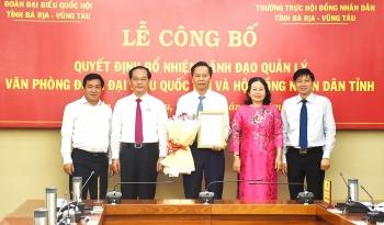 Bổ nhiệm nhân sự lãnh đạo mới Hà Nội, Lâm Đồng, Bà Rịa - Vũng Tàu