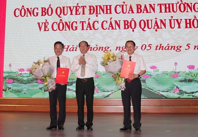 thai nguyen nam dinh hai phong bo nhiem nhan su moi