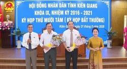Ông Lâm Minh Thành được bầu giữ chức Phó Chủ tịch UBND tỉnh Kiên Giang