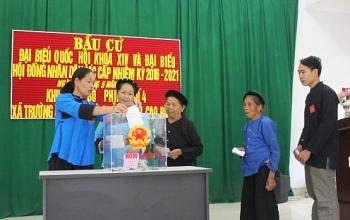 Danh sách 10 ứng viên đại biểu Quốc hội tại Cao Bằng