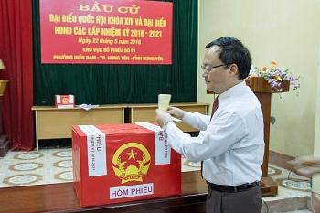Danh sách 13 ứng viên đại biểu Quốc hội tại Hưng Yên