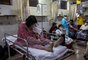 Ấn Độ: Số ca COVID-19 vượt mốc 20 triệu, phe đối lập kêu gọi phong tỏa toàn quốc