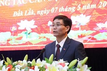 Chủ tịch tỉnh Đắk Nông Nguyễn Đình Trung làm Bí thư Tỉnh ủy Đắk Lắk
