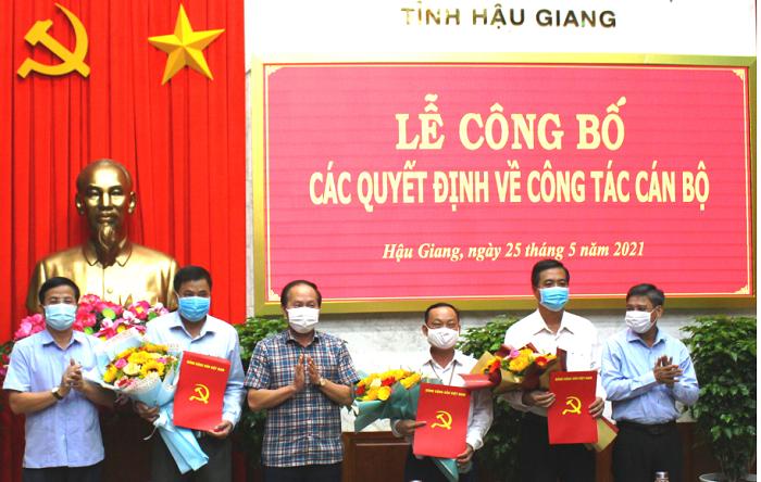 Bổ nhiệm lãnh đạo mới tại Đà Nẵng, Hậu Giang, Tây Ninh
