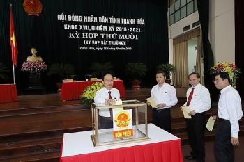 Danh sách 85 người trúng cử đại biểu HĐND tỉnh Thanh Hóa nhiệm kỳ 2021-2026