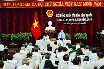 Danh sách 53 người trúng cử đại biểu HĐND tỉnh Bình Thuận nhiệm kỳ 2021-2026