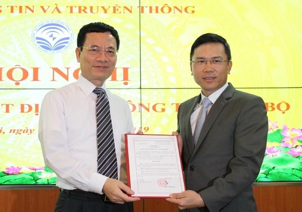 nhan su moi bo thong tin va truyen thong bo cong thuong