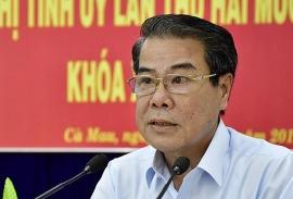 Bí thư Cà Mau Dương Thanh Bình làm Uỷ viên Uỷ ban Thường vụ Quốc hội
