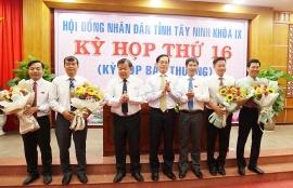 Bí thư Thành uỷ được bầu giữ chức Phó Chủ tịch tỉnh Tây Ninh