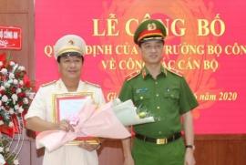 Tân Giám đốc Công an tỉnh Nghệ An, Hà Tĩnh, Kiên Giang là ai?