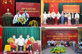 Quảng Ngãi, Quảng Bình, Quảng Trị kiện toàn nhân sự, bổ nhiệm lãnh đạo mới