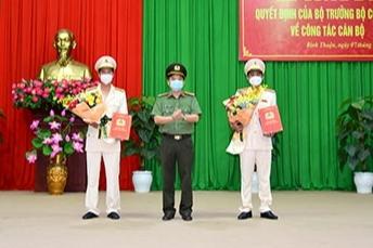 Bình Thuận có tân Phó Giám đốc Công an tỉnh