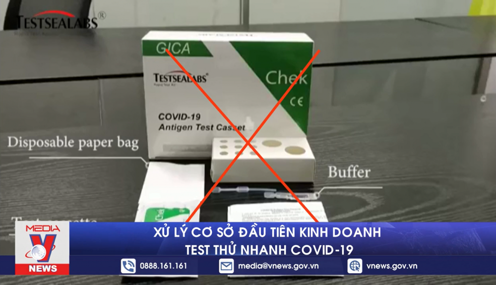 Không nên xét nghiệm COVID-19 tại nhà
