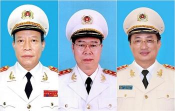 7 tướng lĩnh quân đội, công an thôi giữ chức Thứ trưởng
