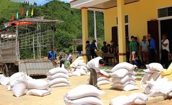 Chính phủ xuất cấp gần 820 tấn gạo hỗ trợ nhân dân tỉnh Quảng Trị trong thời gian giáp hạt năm 2021