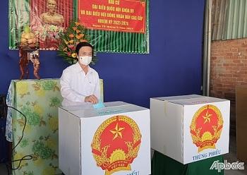 Danh sách 8 người trúng cử đại biểu Quốc hội tại Tiền Giang