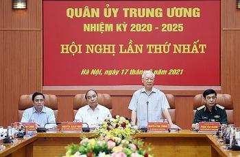 Bộ Chính trị chỉ định nhân sự tham gia Quân ủy Trung ương