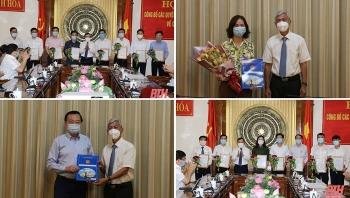 TP.HCM, Thanh Hóa điều động, bổ nhiệm hàng loạt lãnh đạo mới