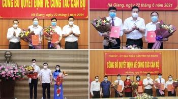 Loạt nhân sự mới được điều động, bổ nhiệm tại Nghệ An, Hà Giang