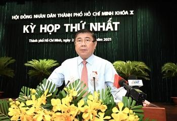 Ông Nguyễn Thành Phong tiếp tục được bầu làm Chủ tịch UBND TP.HCM