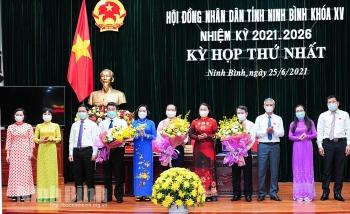 Ninh Bình kiện toàn nhân sự lãnh đạo HĐND, UBND tỉnh