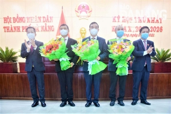 Đà Nẵng bầu Chủ tịch, Phó Chủ tịch HĐND và UBND khóa mới