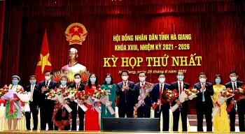 Hà Giang: Chủ tịch HĐND và UBND tái đắc cử nhiệm kỳ mới
