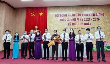 Kiện toàn nhân sự chủ chốt HĐND, UBND tỉnh Kiên Giang