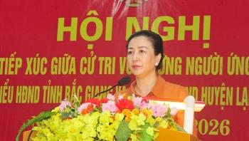 Bà Lê Thị Thu Hồng trúng cử Chủ tịch HĐND tỉnh Bắc Giang