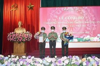 Đại tá Phạm Đăng Khoa làm Cục trưởng Cục Viễn thông và Cơ yếu Bộ Công an