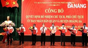 Đà Nẵng bổ nhiệm hàng loạt nhân sự, lãnh đạo mới