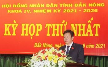 Ông Lưu Văn Trung được bầu làm Chủ tịch HĐND Đắk Nông