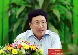 Phó Thủ tướng Phạm Bình Minh: Cần đẩy nhanh giải ngân vốn đầu tư công