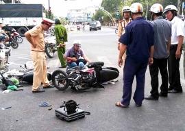 Tiếp tục thực hiện nghiêm việc xử phạt vi phạm trong giao thông