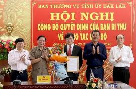 Lai Châu, Kon Tum, Đắk Lắk bổ nhiệm nhân sự lãnh đạo mới